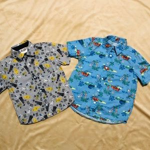 Other - Button Down Short Sleeve Shirts Set of 2